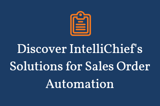 Automation software for sales orders