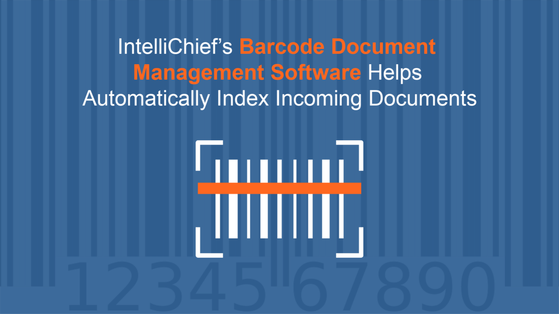 Barcode Document Management Software