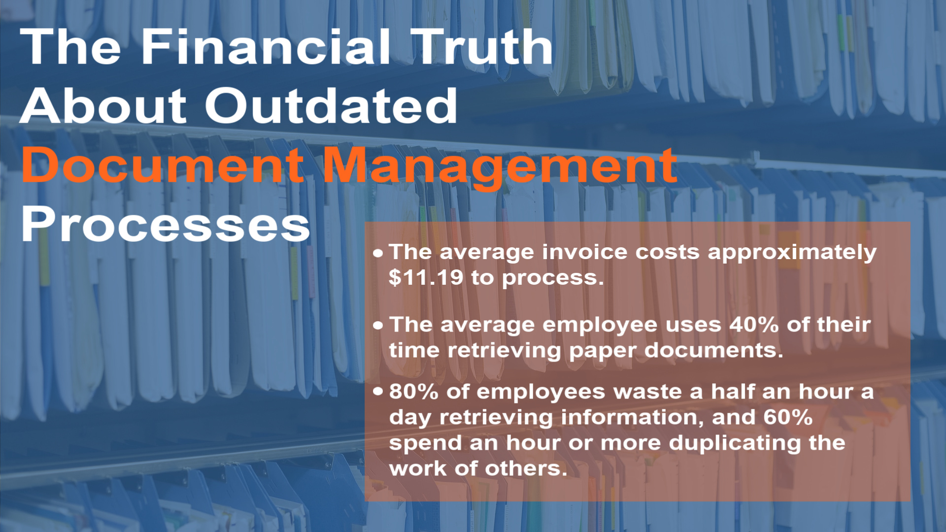 Outdated Document Management Processes
